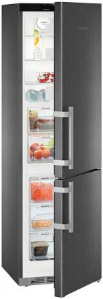 Двухкамерный холодильник Liebherr CBNbs 4815 (Р<16 кВт/мес, 1 комп-р, NoFrost, суперзаморозка )
