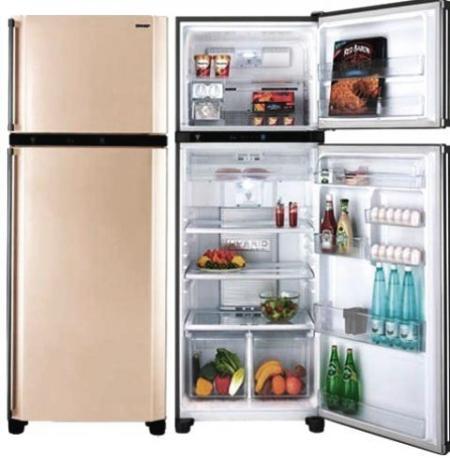 Двухкамерные холодильники SHARP